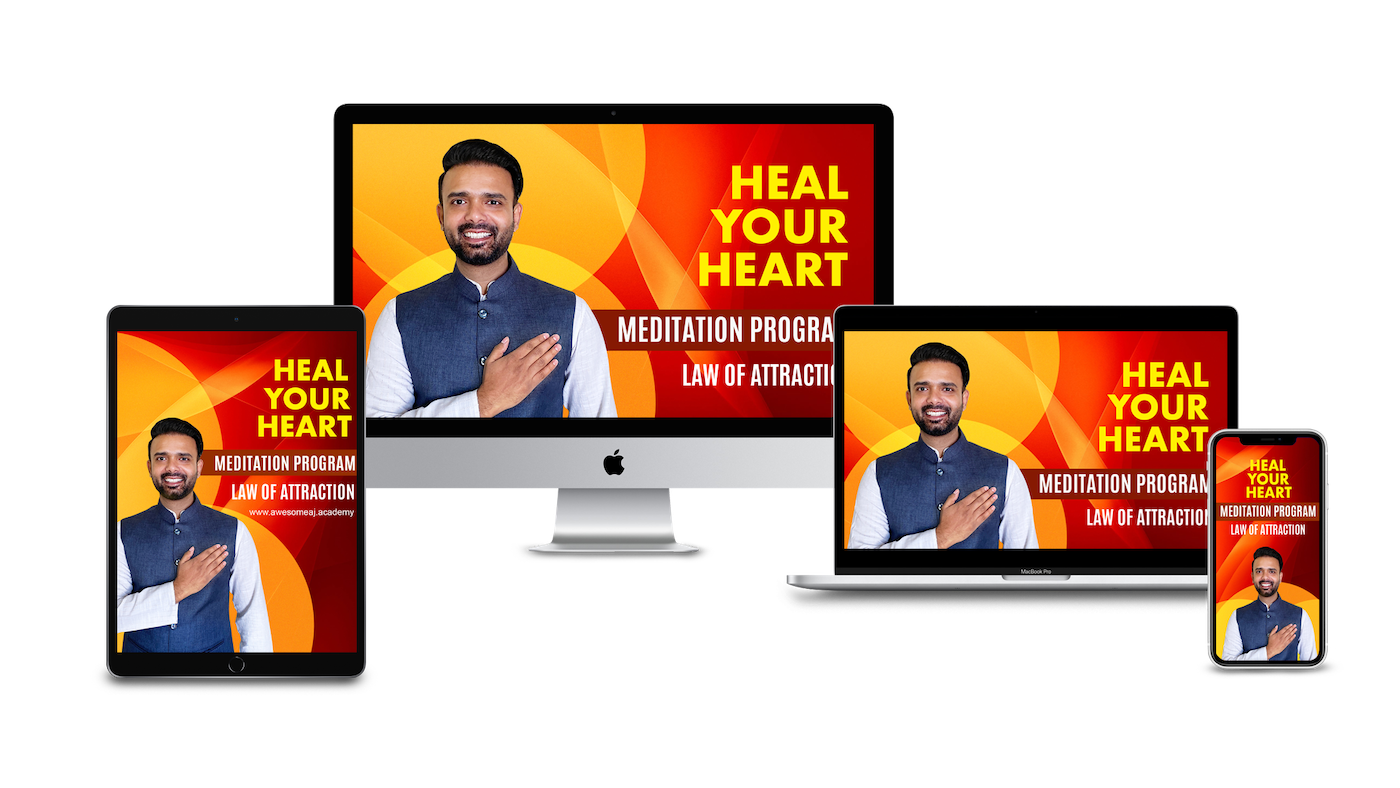 heal your heart program by awesome aj